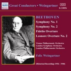 Beethoven - Great Conductors;Weingartner (CD)