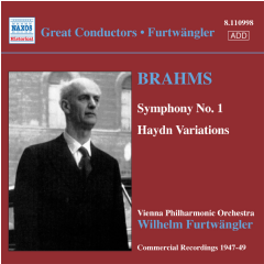 Brahms - Symphony No.1 - Haydn Variations (CD)