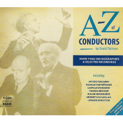 A-Z Of Conductors + Book - Various Artists (CD)