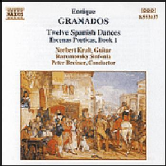 12 Spanish Dances, Escenas Poeticas Bk. 1 - Various Artists (CD)