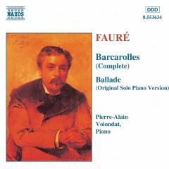 Pierre-Alain Volondat - Barcarolles Nos. 1 - 13 / Ballade (CD)