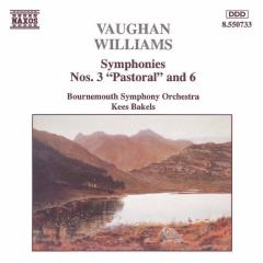 Bournemouth Symphony Orchestra - Symphonies Nos. 3 Pastoral & 6 (CD)