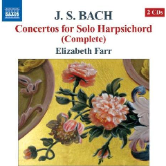 Bach, J.s:concertos For Solo Ha - Concertos For Solo Harpsichord (CD)