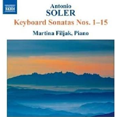 Soler: Keyboard Sonatas Nos 1-15 - Keyboard Sonatas (CD)
