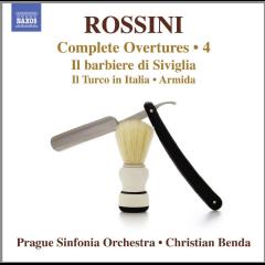 Prague Sinfonia Orchestra - Complete Overtures 4: Il Barbiere Di Siviglia, Il Turco In Italia, Sinfonia In E Flat, Ricciardo E Zoraide (CD)