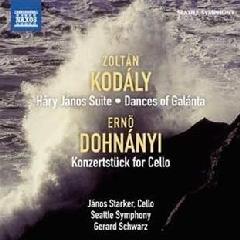 Starker/seattle Symphony - Dances Galanta / Konzertstuck (CD)