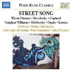 Uni Georgia Wind Ensemble - Street Song (CD)