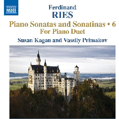 Kagan, Susan / Primakov, Vassily - Sonatas And Sonatinas - Vol.6 (CD)