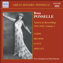 Ponselle Rosa - American Recordings (1897-1981) (CD)
