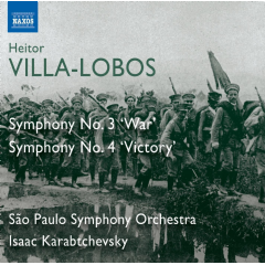Sao Paulo Symphony Orchestra - Symphonies Nos.3 & 4 (CD)