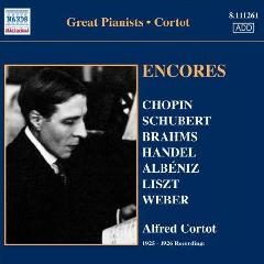 Cortot, Alfred - Encores (CD)