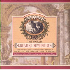 World's Greatest Overtures - Various Artists (CD)