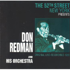 John Redman - The 52nd Street New York Presents John Redman (CD)