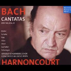 Harnoncourt Nikolaus - Cantatas Bwv 29, 61 & 140 (CD)