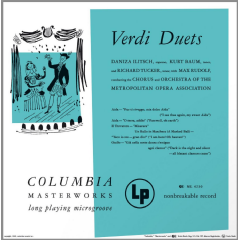 Tucker, Richard - Verdi Duets (CD)