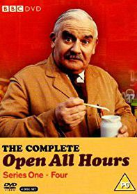 Open All Hours Complete Series 1-4 Box Set (Import DVD)