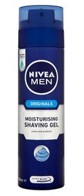 Nivea  Moisturising Gel 200ml (Shaving) for men
