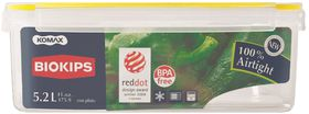 Snappy - 5.2 Litre Rectangular Food Storage Container With Crisper - 22 cm x 31 cm x 11 cm