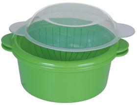 Progressive - Microwave Vegetable Steamer - (75mm x 140mm x 140 mm)