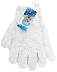 Cosmetrix - Exfoliating Gloves -  1 Pair Green