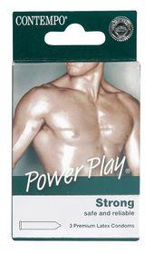 Contempo Power Play Condom 3's
