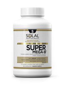 Solal Super Mega B Vit-B Complex - 60s