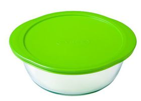 Pyrex - Storage Cook & Store Round Dish with Lid- 1.1 Litre