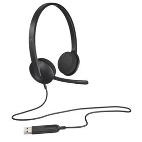 Logitech H340 USB Wired Headset With Microphone