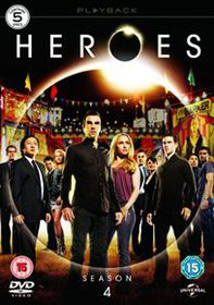Heroes: The Complete Series 4 (Import DVD)