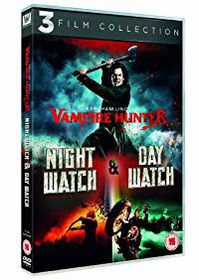Abraham Lincoln - Vampire Hunter, Night Watch and Day Watch (DVD)