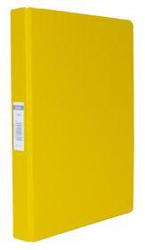 Bantex A4 2 O-Ring PVC 25mm Ringbinder - Yellow
