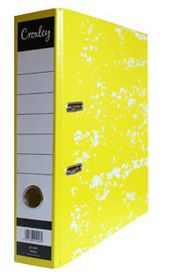 Croxley JD1009 Lever Arch File A4 70mm - Yellow