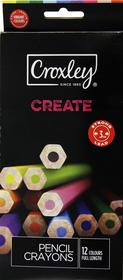 Croxley Create 12 Full Length Colour Pencils