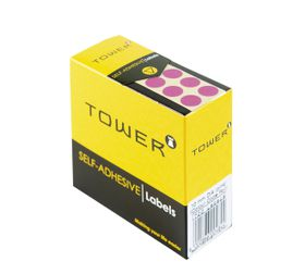 Tower C10 Colour Code Labels - Pink