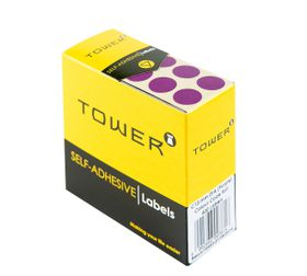 Tower C13 Colour Code Labels - Purple