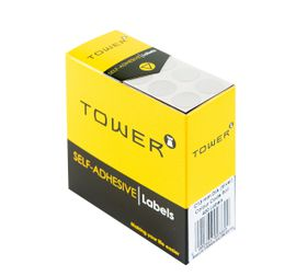 Tower C13 Colour Code Labels - Silver