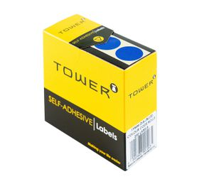 Tower C19 Colour Code Labels - Blue