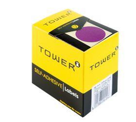 Tower C32 Colour Code Labels - Purple