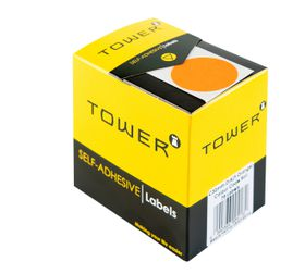 Tower C32 Colour Code Labels - Fluorescent Orange
