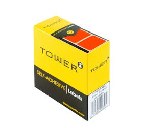 Tower R1925 Colour Code Labels - Fluorescent Red