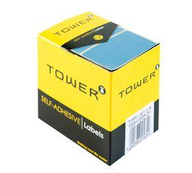 Tower R3250 Colour Code Labels - Light Blue
