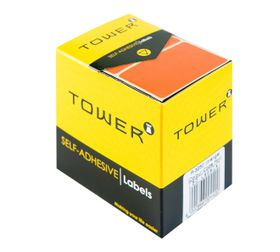 Tower R3250 Colour Code Labels - Orange