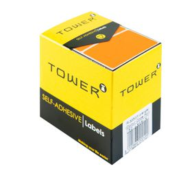 Tower R3250 Colour Code Labels - Fluorescent Orange