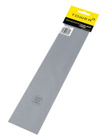 Tower Lever Arch Labels - Grey (Pack of 12)