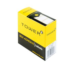 Tower White Roll Labels - R1319