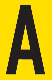 Tower Adhesive Letter Sign - Small A