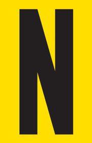 Tower Adhesive Letter Sign - Medium N