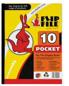 Flip File A4 Display File - 10 Pocket