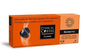 Ethical Coffee Company - Ristretto Coffee Capsules - Sleeve of 10