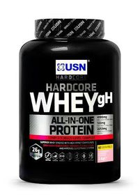 USN Hardcore Whey Gh 2Kg Strawberry